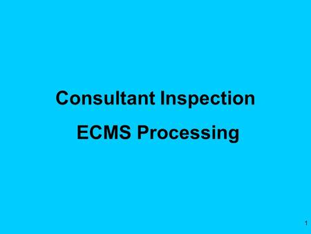 1 Consultant Inspection ECMS Processing. 2 Today's Topics Employee Rate Submissions – Subs Sub Approvals by Prime Prime Employee Submissions PennDOT Review.