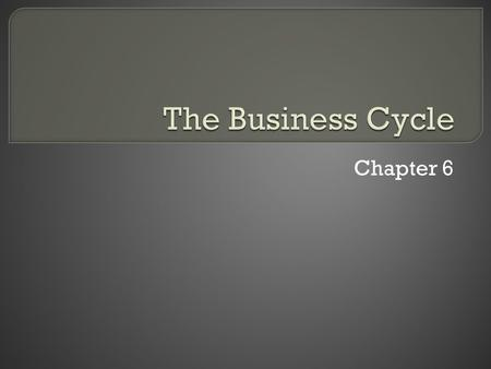 Chapter 6.  The first part of chapter 6 seems boring and unnecessary, but there is one thing in it you should know about: The relationship between supply.