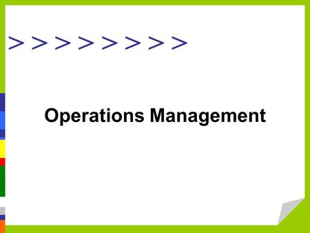 > > > > Operations Management. Define the role of the business in society and the role of profits in business.. Define the role of operations management.