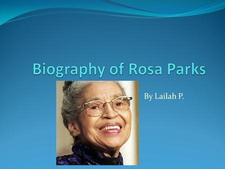 essay parks High school & college rosa parks essay introduction, summary, hook & conclusion for students her importance and major accomplishments.