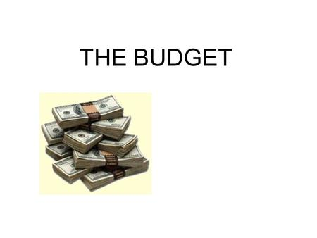 THE BUDGET. Fiscal Policy Fiscal Policy is the impact of the federal budget on the economy- -for example- taxes, spending and borrowing--so in talking.