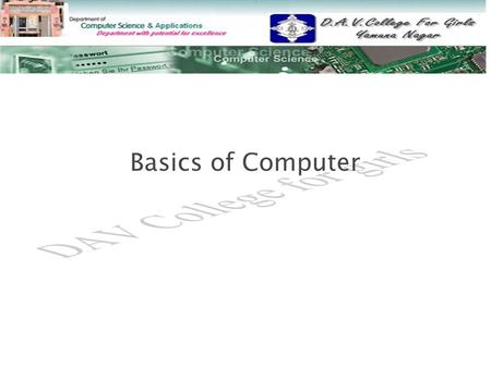 Basics of Computer. 1. a)What do you mean by Data Processing?Explain the various data processing methods? b) Explain the Information with its various.