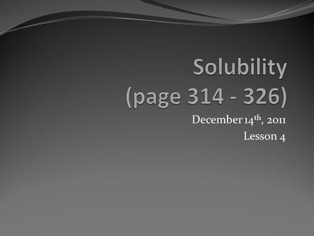 December 14 th, 2011 Lesson 4. Today's Agenda Explanation of how to answer question # 2 of the lab Note Questions Reading We will complete the lab tomorrow.