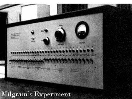Milgram's Experiment. The Purpose of the Experiment Prompted by Milgram's interest in Eichmann and the Nazi's obedience to Hitler in the Holocaust. This.