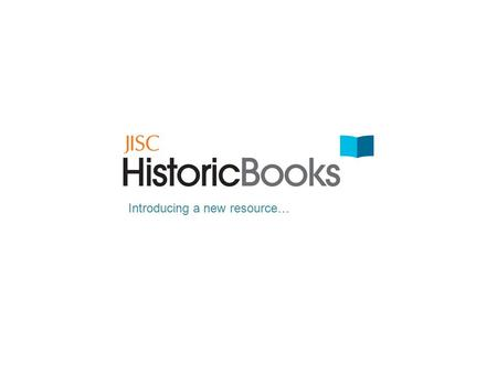 Introducing a new resource…. Bring your work to life with an unprecedented range of primary sources.