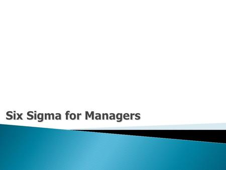 2 Contents : Six Sigma : An OverviewSix Sigma : An Overview What is Six Sigma?What is Six Sigma? Why Six Sigma?Why Six Sigma? Six Sigma Phases : Define,