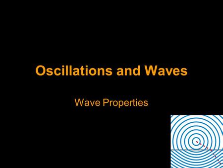 Oscillations and Waves Wave Properties. Reflection and Refraction Terminology (define these in your own words) - Incident ray - Reflected ray - Refracted.