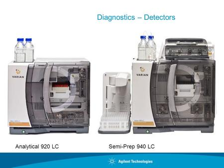 Diagnostics – Detectors Analytical 920 LCSemi-Prep 940 LC.