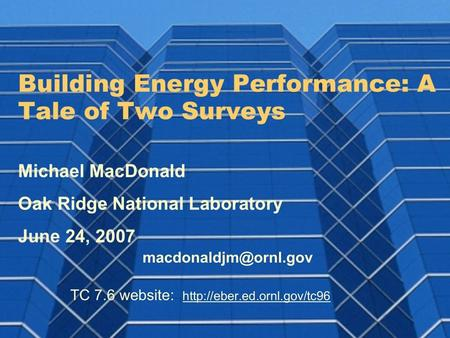 2 Why Care About Building Energy Performance?  Aside from building energy increasing?  Ignoring performance ratings is choosing to fly fairly blind.