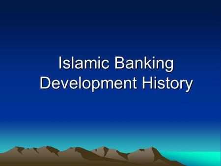 New Report Outlines Actions to Leverage Islamic Finance for Development