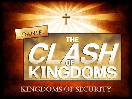 Terry Bozeman. Daniel 5 World's View of Security Security is found in power Security is placed in wealth.