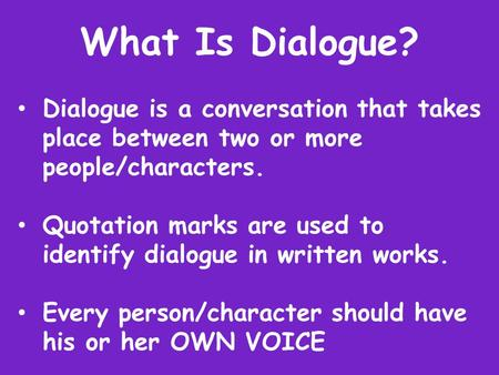 DIALOGUE BETWEEN 4 PEOPLE