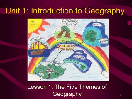 the introduction of geography today Geography is a field of science devoted to the study of the lands, features, inhabitants, and phenomena of earth the first person to use the word γεωγραφία .