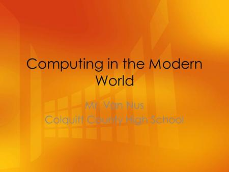 computing in the modern world study This foundation degree is about acquiring skills and learning how to deploy them  at work  the modern world depends on computers and it systems to function.