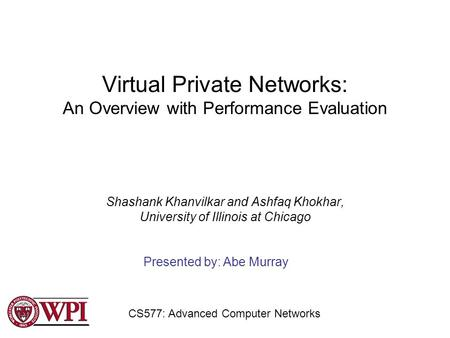a overview of virtual private networks Overview a virtual private network (vpn) is a service that allows you to connect to the university's network when you are not on campus there are certain applications managed by the university that are limited to the university's network.
