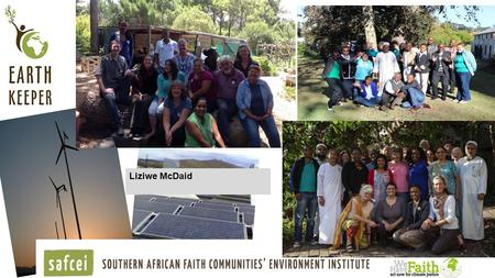 Green Connection - www.thegreenconnection.org.za Liziwe McDaid.