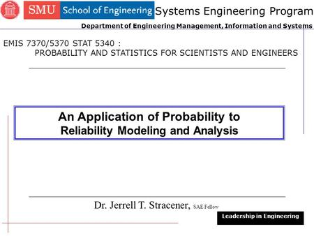 An Application of Probability to
