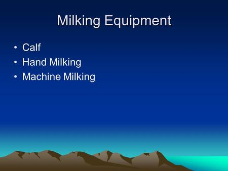 Milking Equipment Calf Hand Milking Machine Milking.