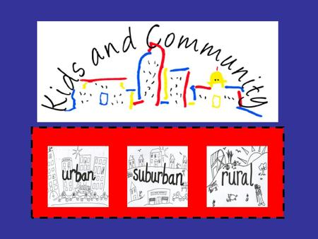 Communities  Communities are found all over the world.  A community is a group of people who live in the same area.  There are different types of communities.