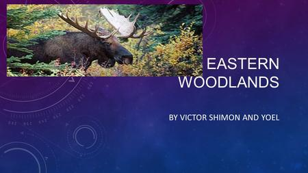 THE EASTERN WOODLANDS BY VICTOR SHIMON AND YOEL. LIFE IN THE EASTERN WOODLANDS The eastern woodlands covers most of the present day east of the Mississippi.
