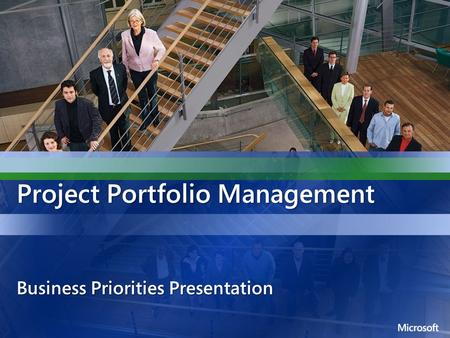 Project Portfolio Management Business Priorities Presentation.