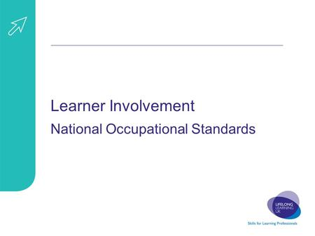 Learner Involvement National Occupational Standards.