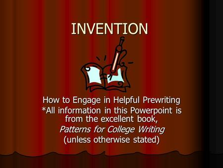Invention Essay