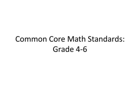 Common Core Math Standards: Grade 4-6. The picture is a neighborhood. For each section find the fractional value of the whole neighborhood.