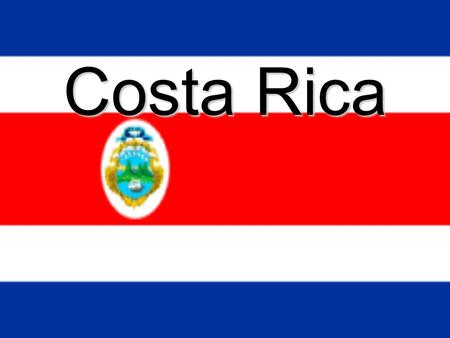 Costa Rica. Country background Since the current constitution prohibits an army, peace is maintained by the Civilian and Rural Guard. Turbulent situations.