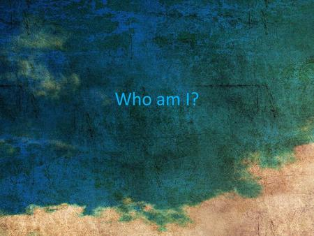 Who am I?. Me I'm 16 years old and have travelled the world with my family, I've lived in China, Mexico and Israel. I can speak English, Greek and Spanish.
