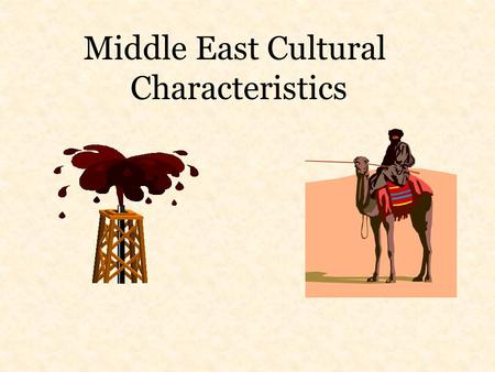 Middle East Cultural Characteristics. There were intense feelings of nationalism among the Jewish people living in Palestine prior to 1948 that helped.