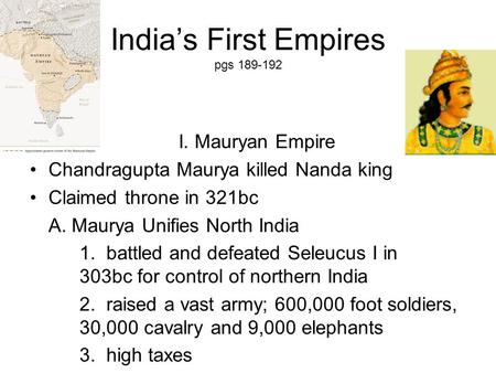 indian dynasities preview main idea reading focus the mauryan empire ppt video online download. Black Bedroom Furniture Sets. Home Design Ideas
