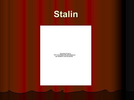 Stalin. I. Totalitarian State I. Totalitarian State A. Five Year Plans A. Five Year Plans 1. Plans focused on heavy industry, transportation, agriculture.