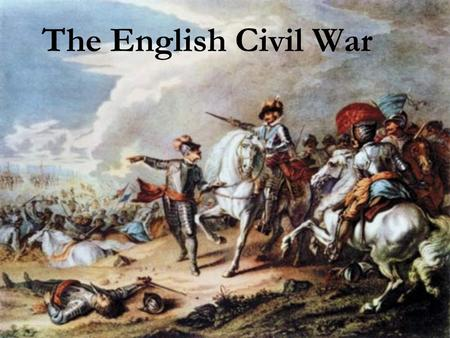 The English Civil War. The English Civil War (1642–1651) was a series of armed conflicts and political machinations between Parliamentarians and Royalists.