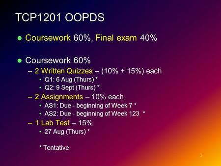 Coursework Essay