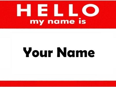 Your Name. See my Resume (link) below…. I live and work near.
