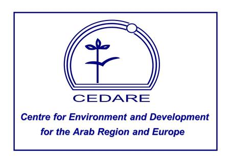 Centre for Environment and Development for the Arab Region and Europe.