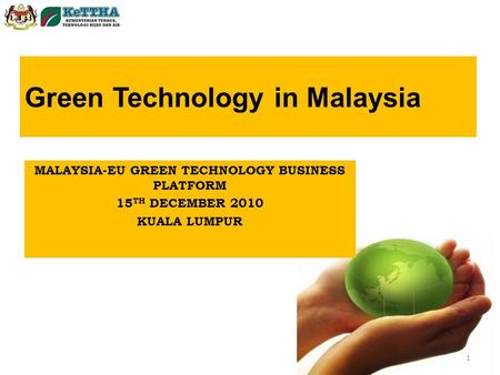 Green Technology in Malaysia