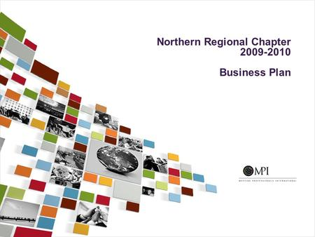 Northern Regional Chapter 2009-2010 Business Plan.
