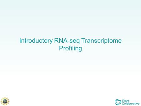 Introductory RNA-seq Transcriptome Profiling. Before we start: Align sequence reads to the reference genome The most time-consuming part of the analysis.
