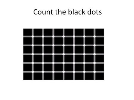 Count the black dots. Despite what your eyes tell you, they are perfectly parallel.