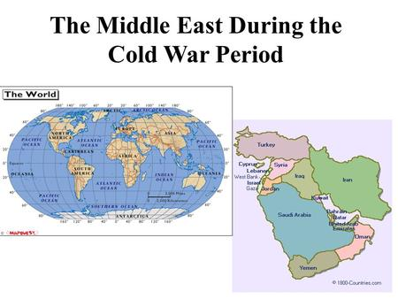 The Middle East During the Cold War Period. Mandates in the Middle East What are Mandates? Established by the League of Nations after WWI Mandate countries.