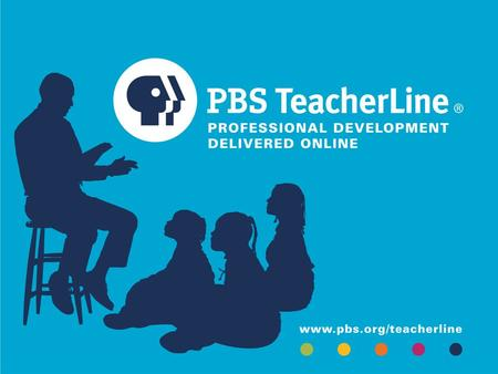 "Interstitials Leverage the PBS brand and connect PBS to education and to teacher professional development. Use the ""language of education."" Have compelling."