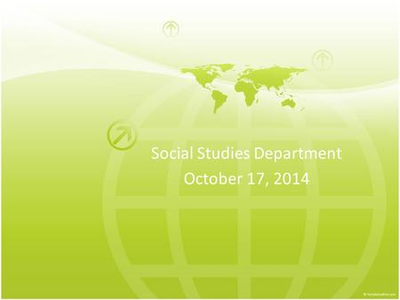 Social Studies Department October 17, 2014. Think of your content and/or advisory students… Would they feel comfortable in these academic settings? Pomona.