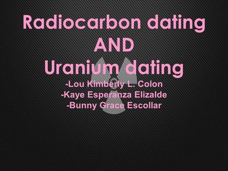 What is involved in the process of radiocarbon hookup