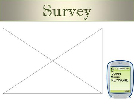 Don't forget: You can copy- paste this slide into other presentations, and move or resize the poll. Survey.
