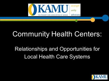 Community Health Centers: Relationships and Opportunities for Local Health Care Systems.