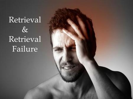 Retrieval & Retrieval Failure.  What is the serial position effect?  What are flashbulb memories?  What is the forgetting curve?  What is the difference.