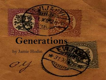 "Generations by Jamie Hodin. ""In an era when men were dominant and women were passive, I stood more feminine than ever, in love."""