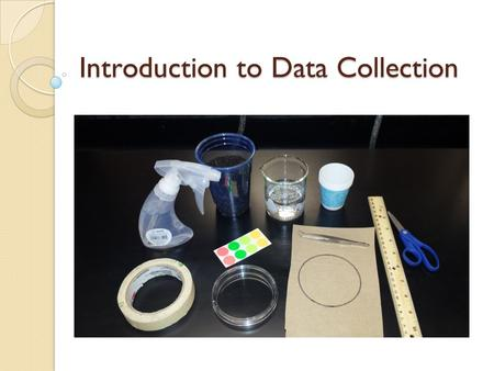 Introduction to Data Collection. First Page of your Composition Journal Title IV: DV: Null Hypothesis: Alternative Hypotheses: ◦ AH1 ◦ AH2 ◦ AH3 (optional.
